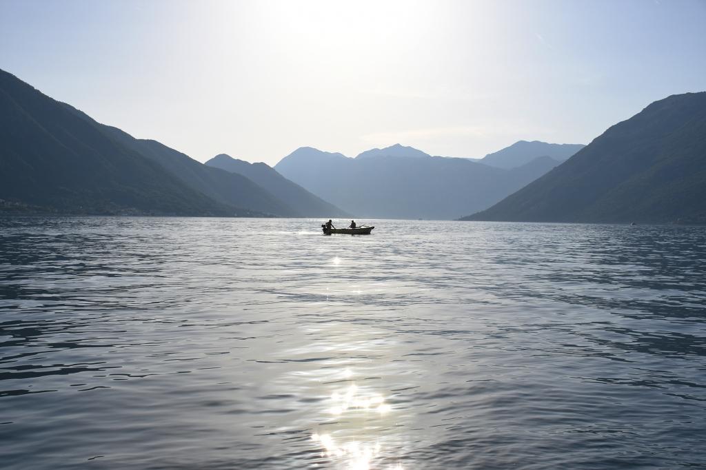 Kotorin lahti Montenegrossa