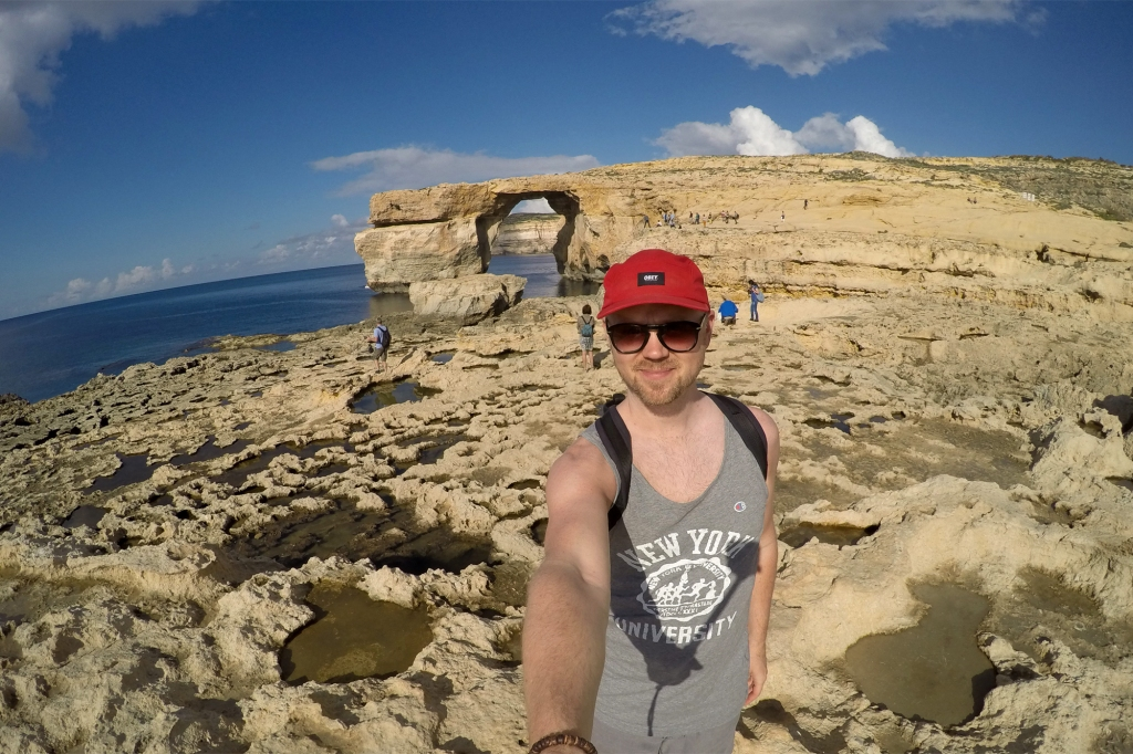Azure Window selfie Maltalla