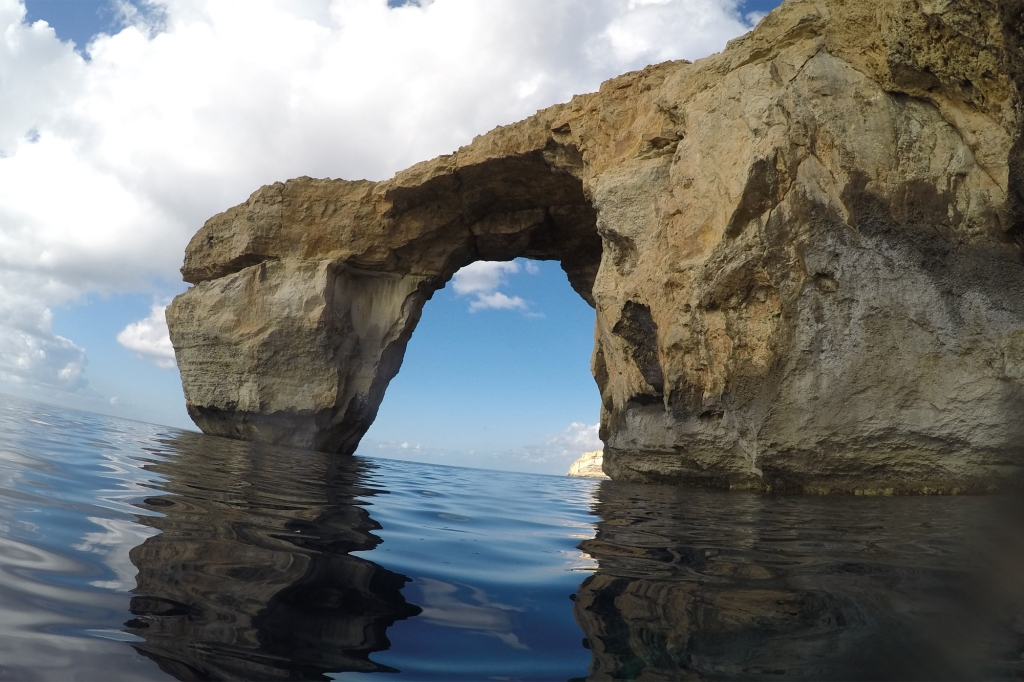 Azure Window snorklatessa