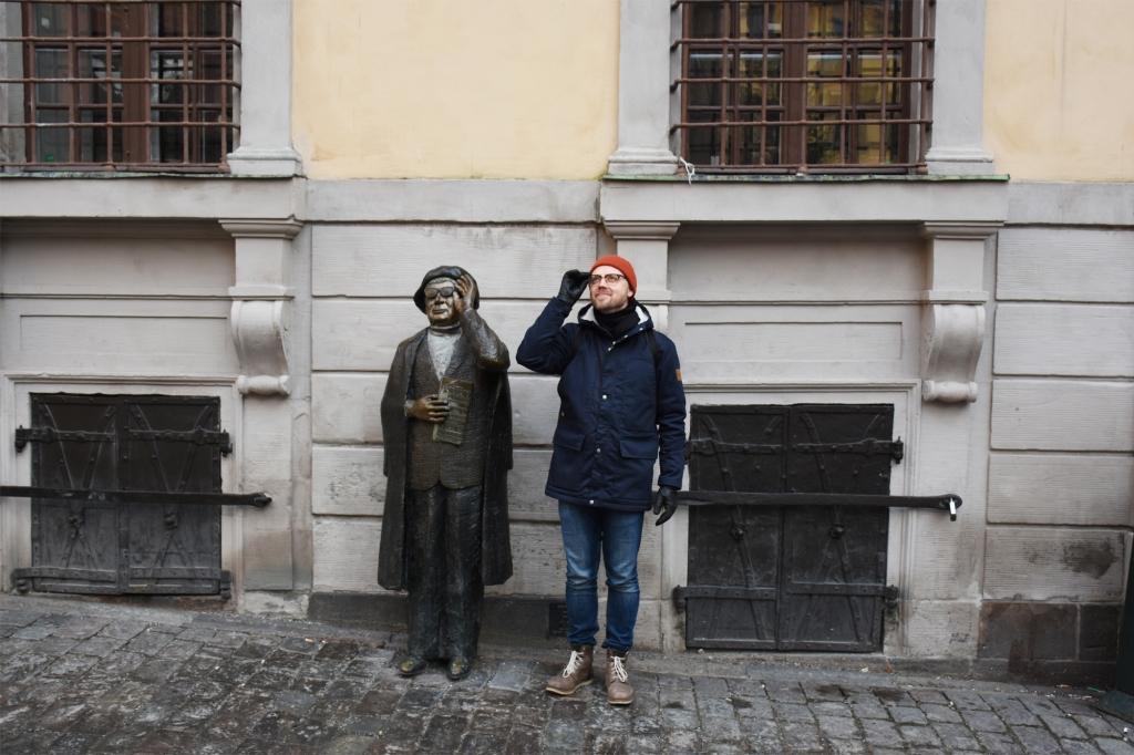 Antti Gamla Stanin kaduilla