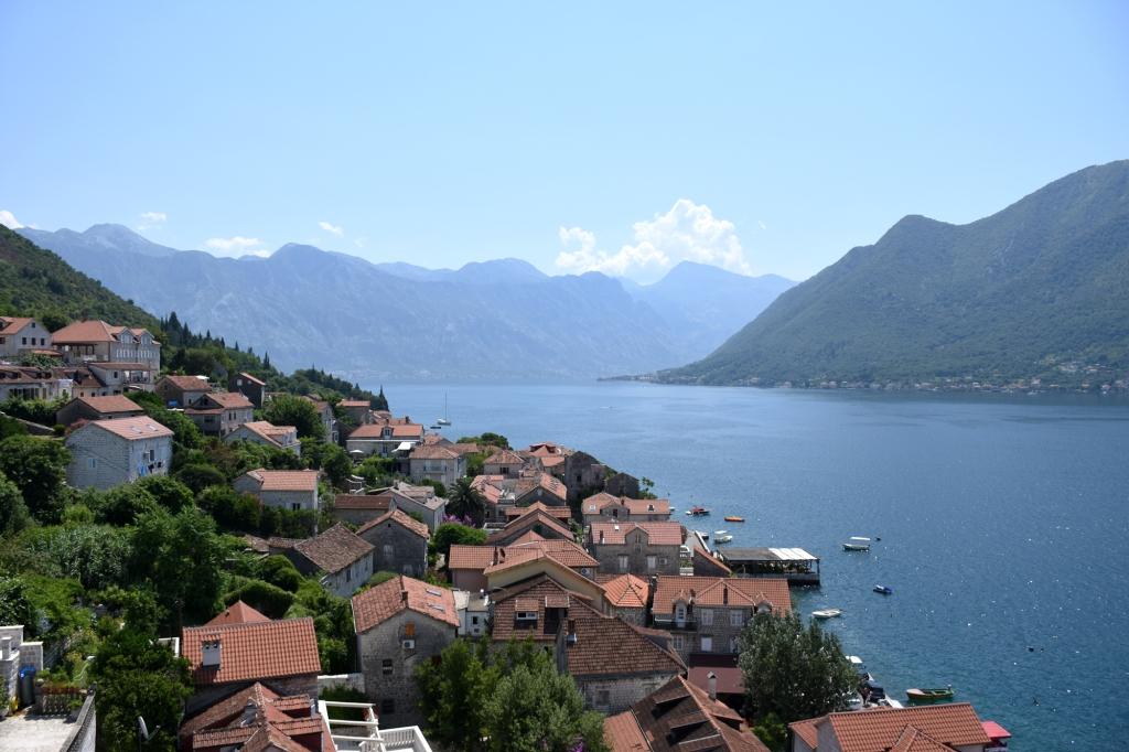 Näkymä Kotorin lahdelle - Montenegro