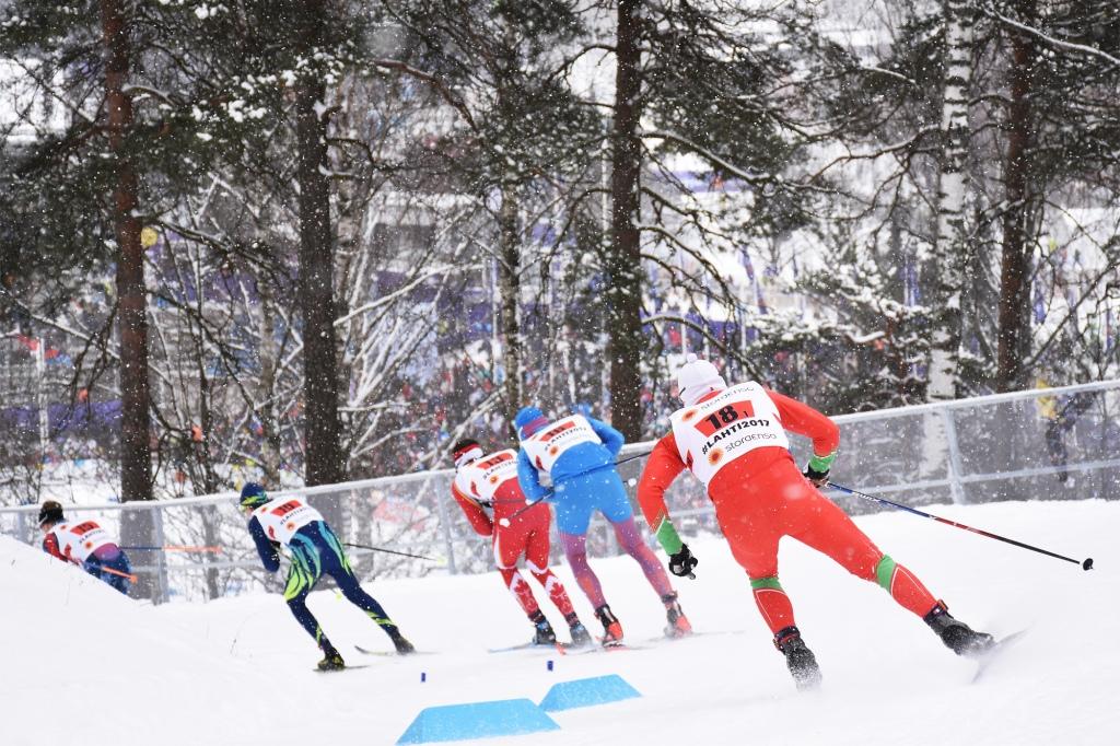 Miesten sprintti Lahti2017