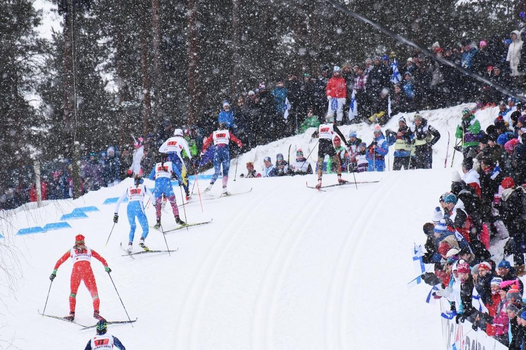 Sprinttihiihdon nousu Lahti2017