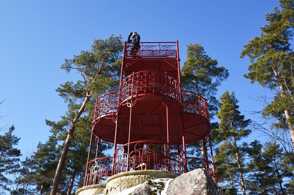 Kukkukiven näkötorni Loviisa