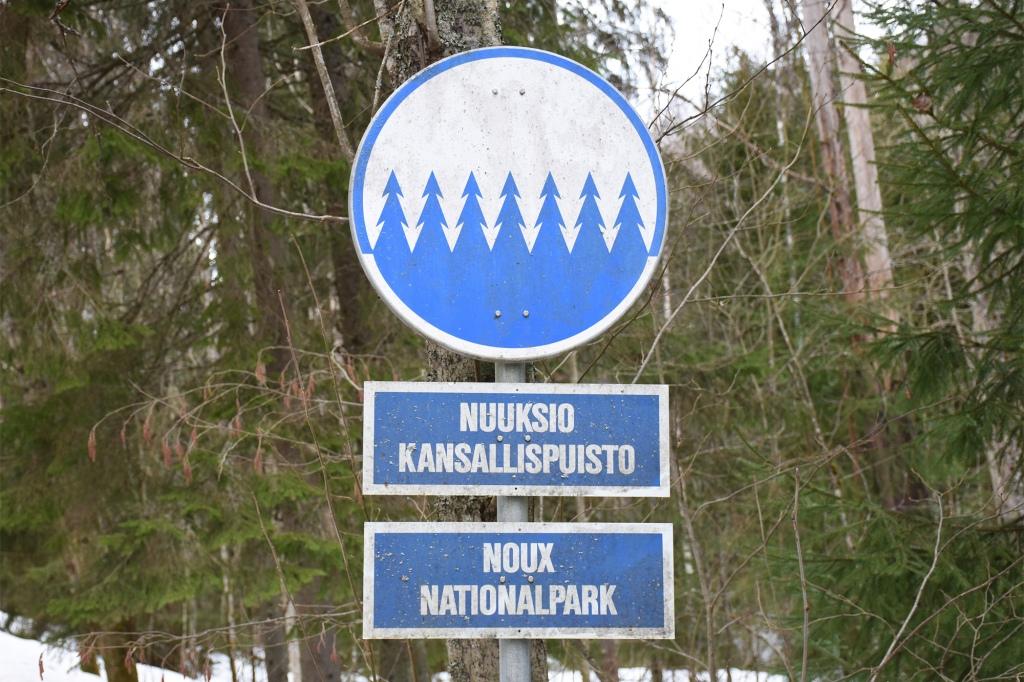 Nuuksio kansallispuisto - saapuminen