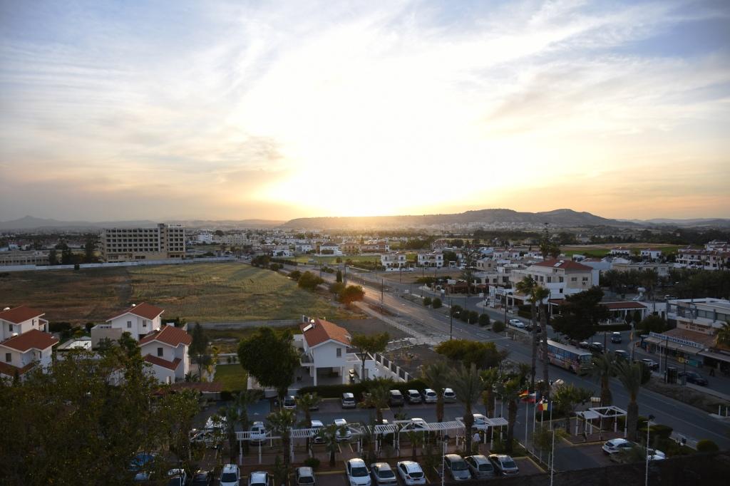 Auringonlasku Kyproksella