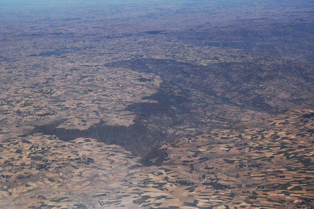 Etiopian maanmuodostelmia