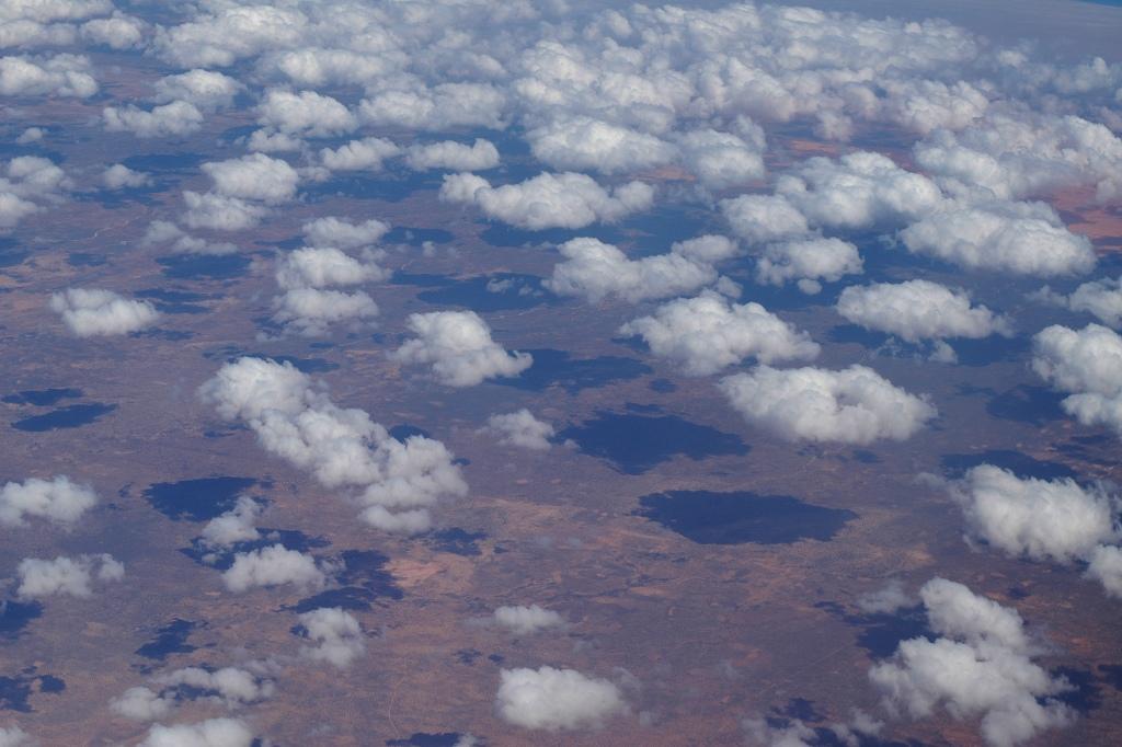 Pilvet Somalian yllä