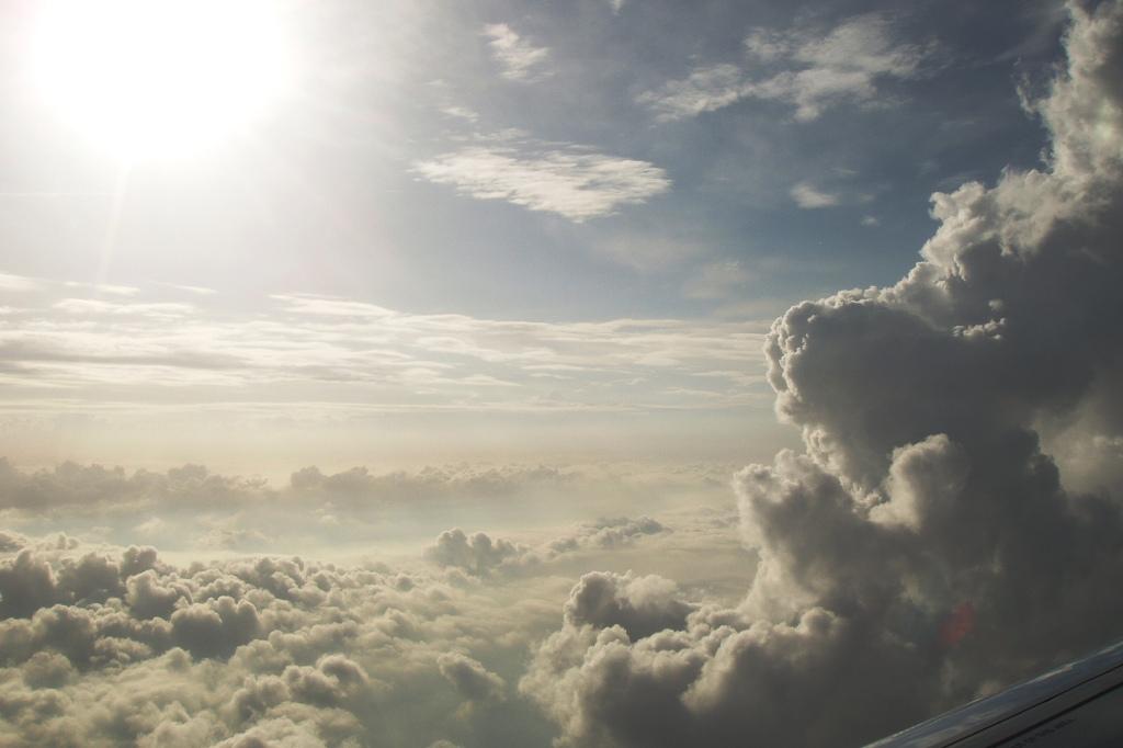 Pilvet kuin maalaus