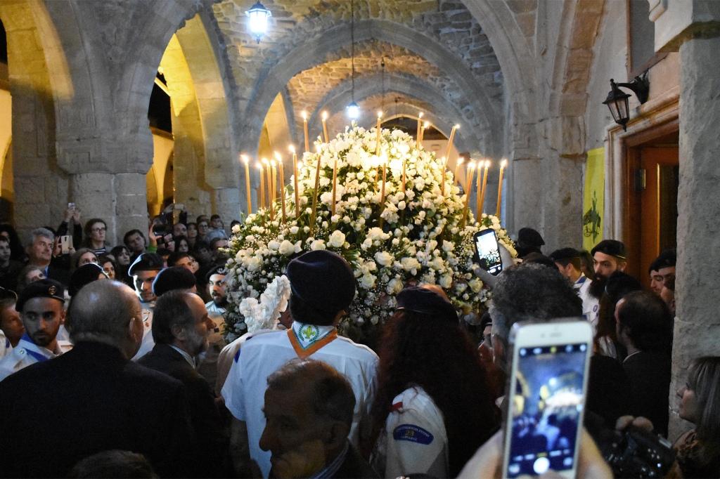 Pääsiäisen kukkakulkue Kyproksella