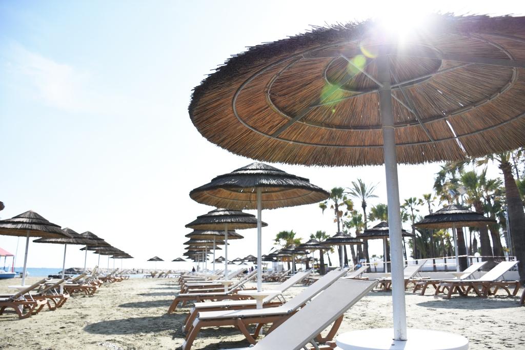 Rannalla on tilaa keväällä - Kypros