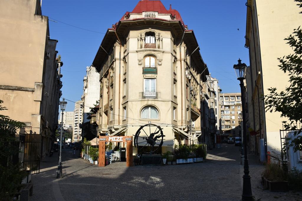 Bukarestin Vanhankaupungin katuja