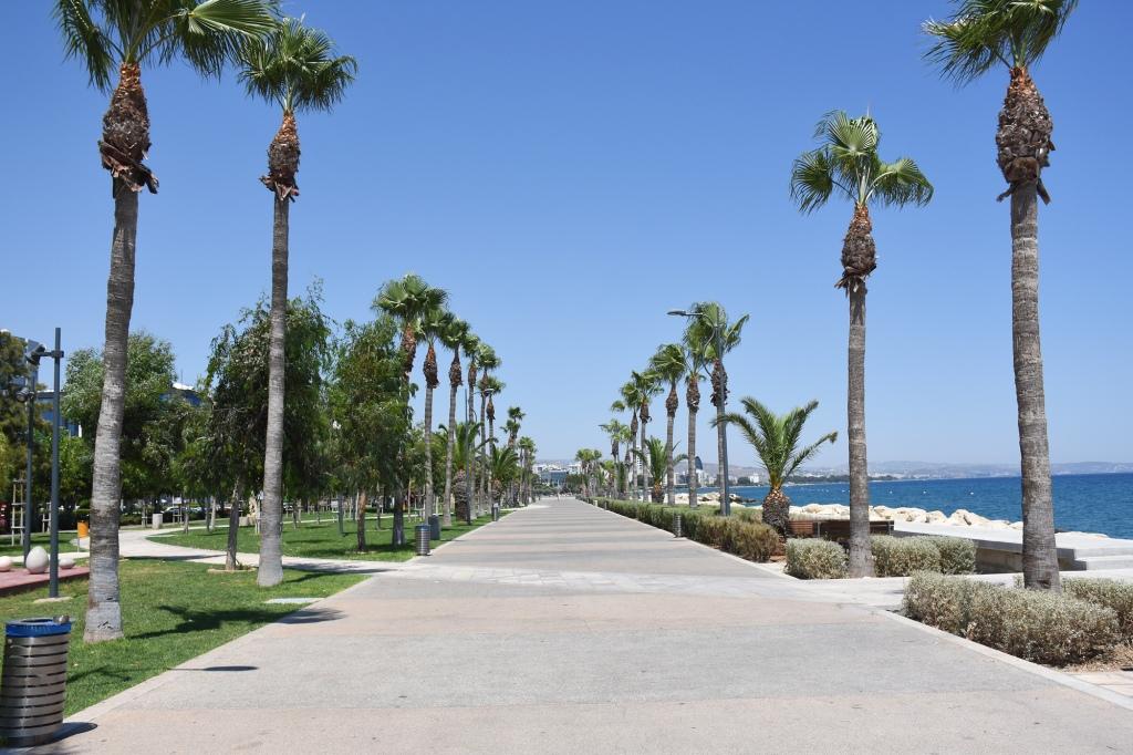 Limassol rantakatu