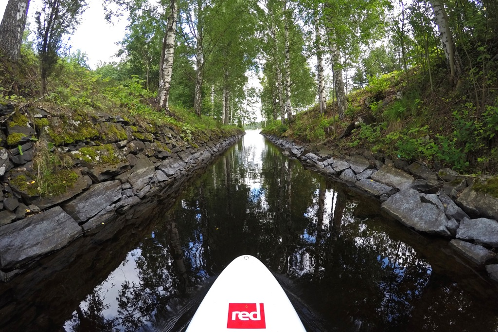 SUP Savonlinna kanavalla