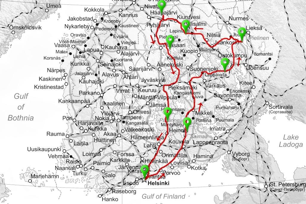 Kartta road trip 2017