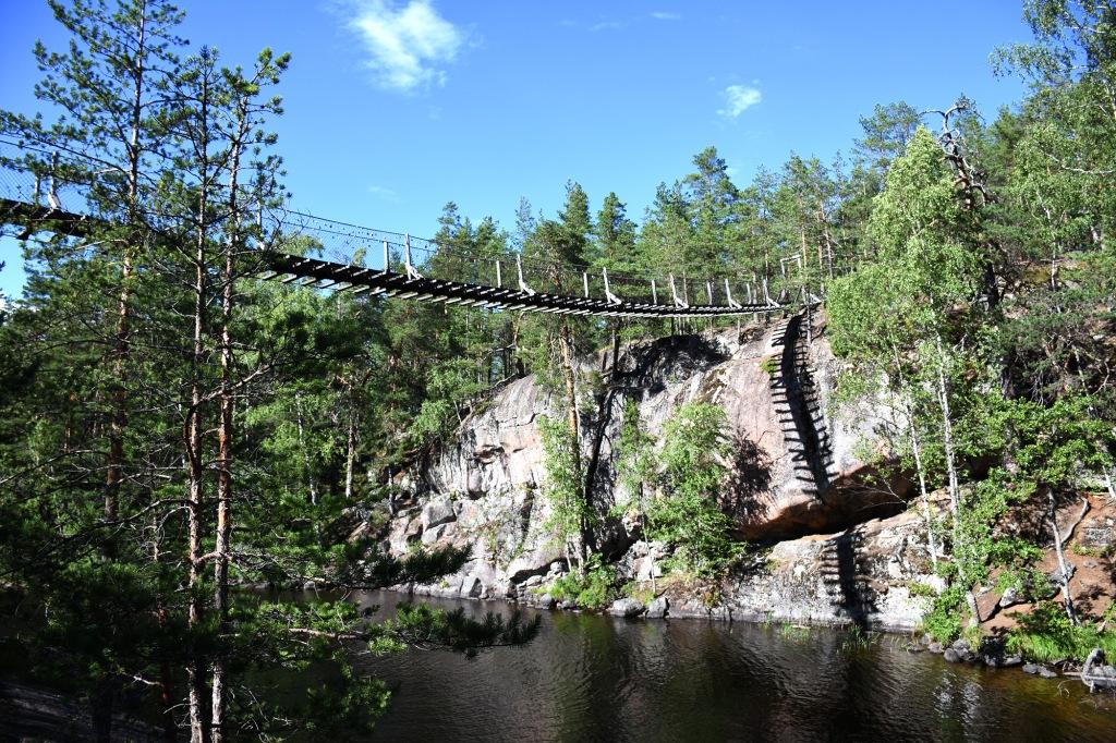 Repovesi Lapinsalmen silta