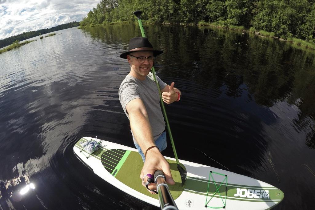 SUP-selfie Suuri Humalajärvi