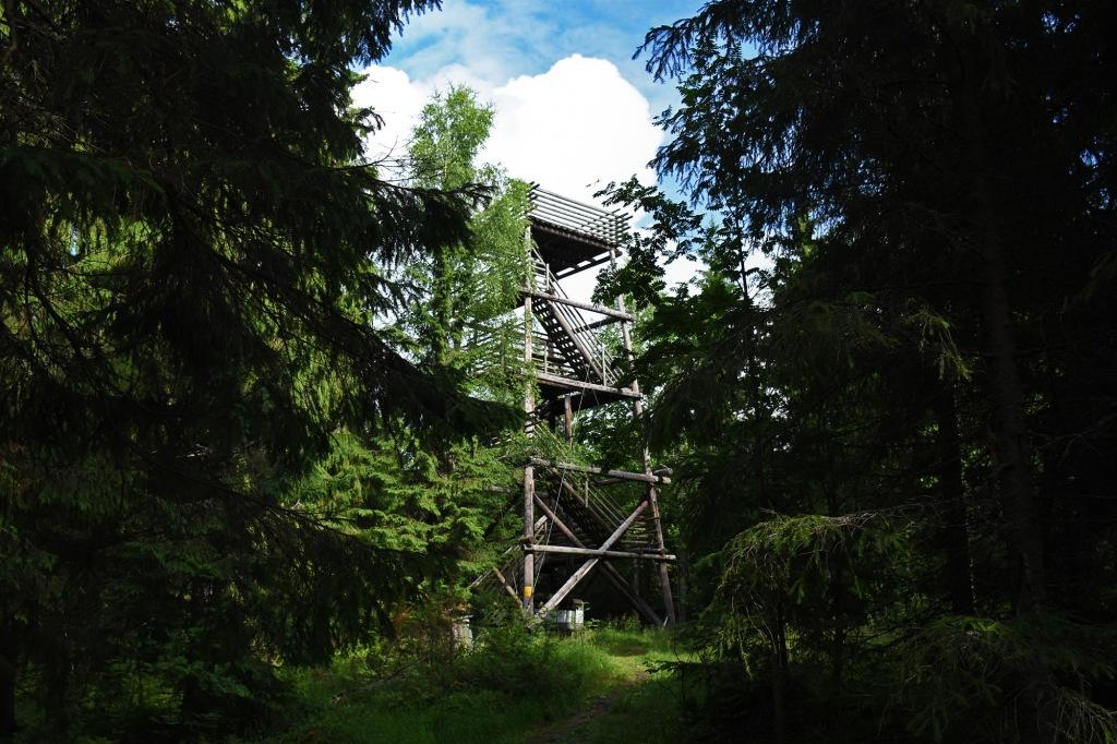 Väisälänmäki Linnanmäen näkötorni