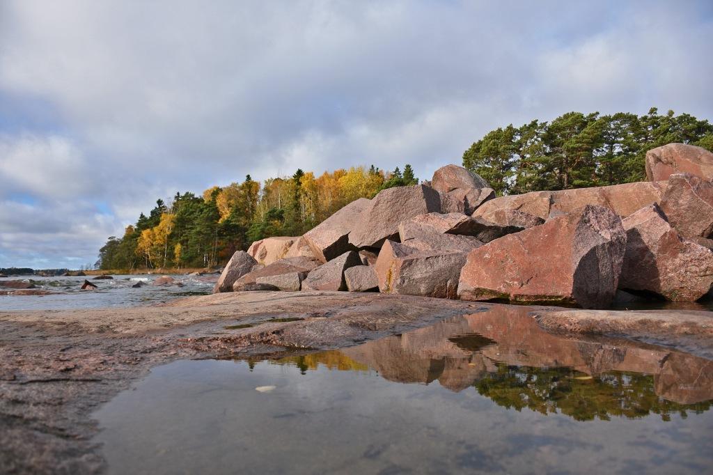 Heijastus kivet - Lauttasaari