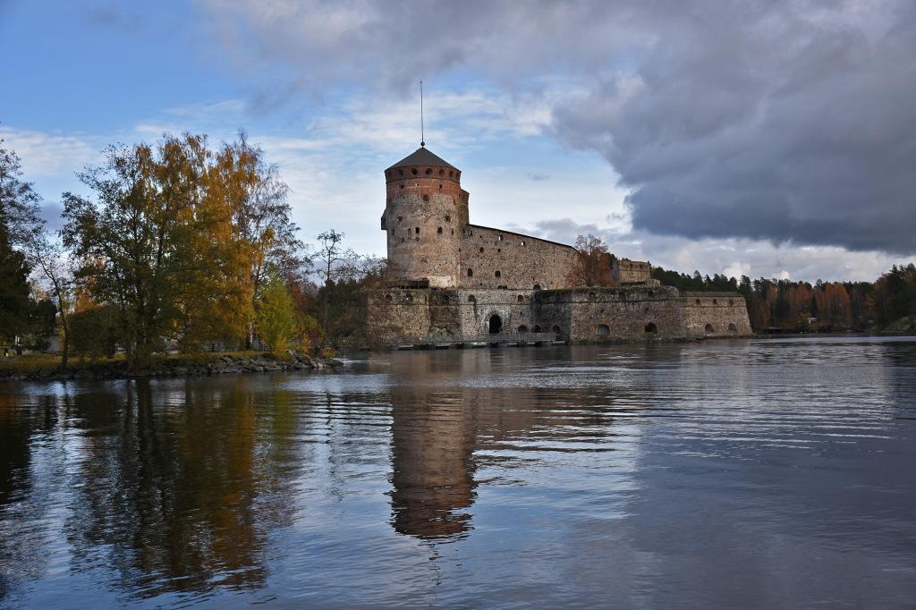 Olavinlinna lokakuussa