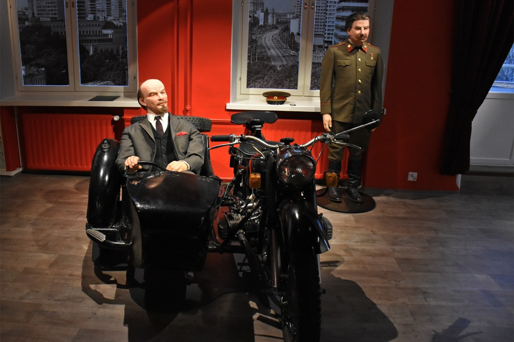 Lenin-museon hahmot