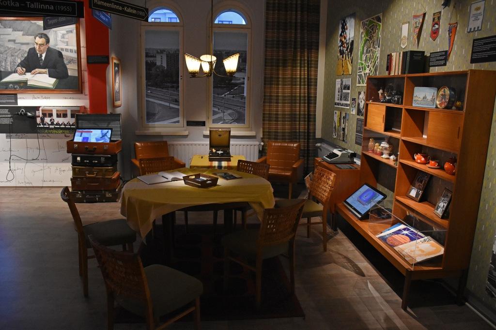 Lenin-museo neuvosto-huone