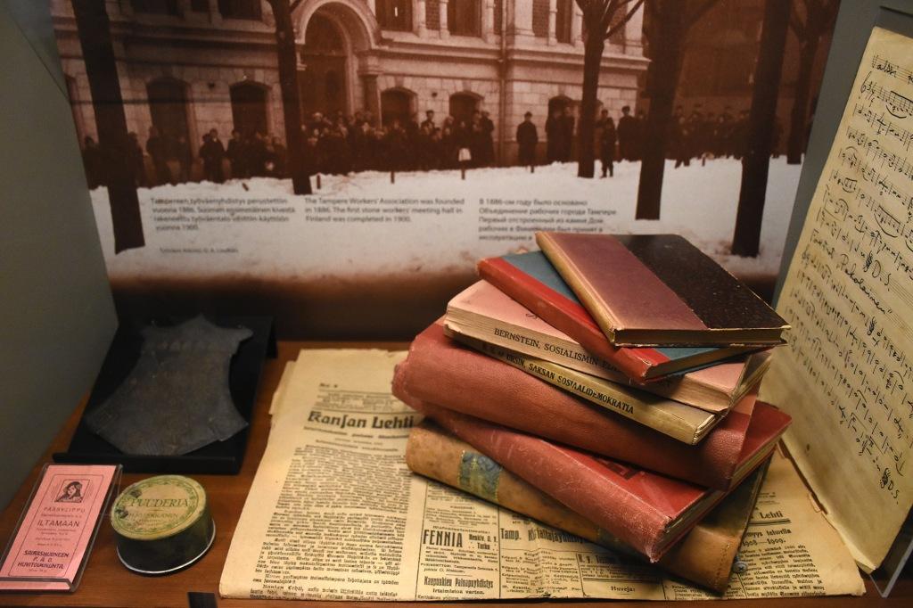 Lenin-museon vanhoja kirjoja