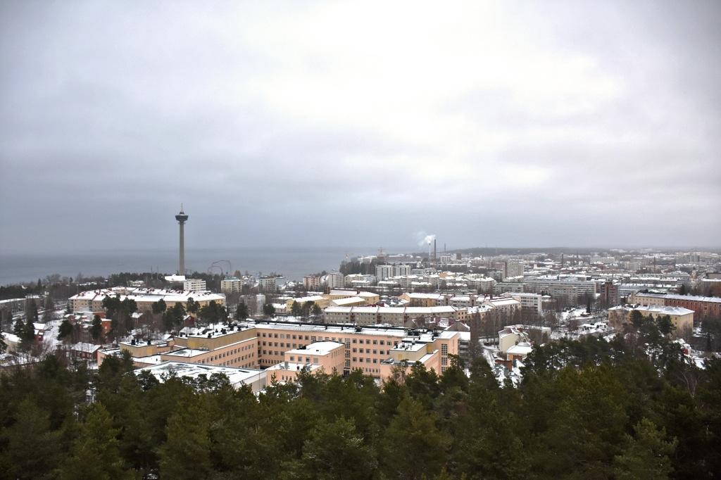 Näkymä Pyynikin tornista
