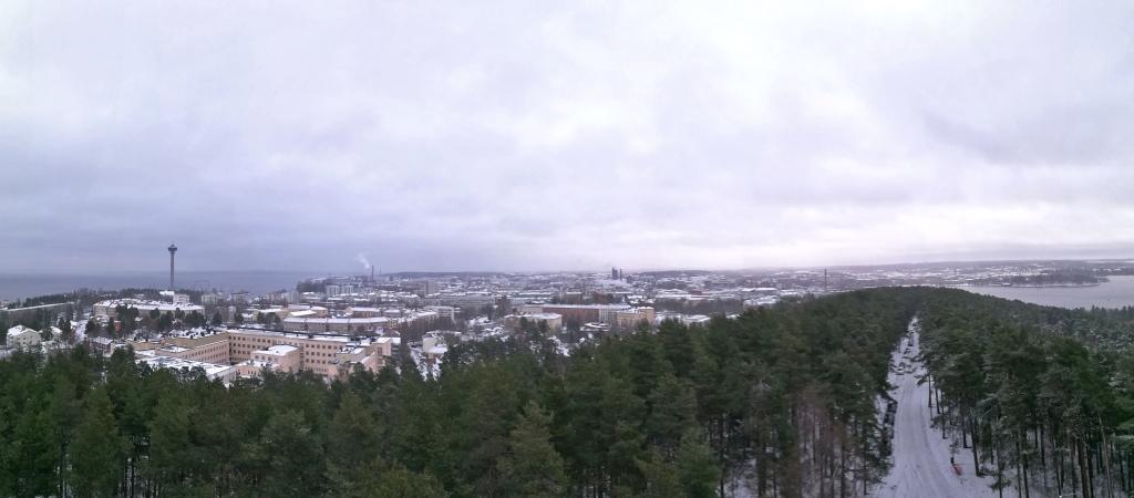 Pyynikin näkötorni panoraama
