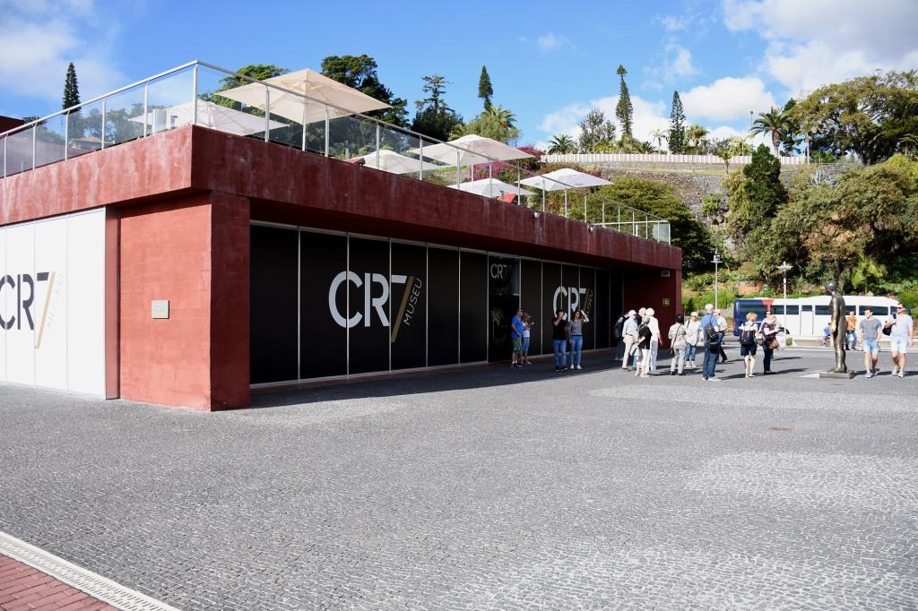 CR7 Museu sisäänkäynti