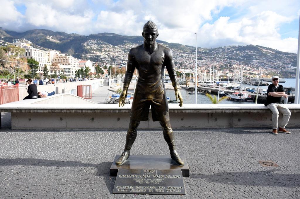 CR7 Museu Ronaldon patsas