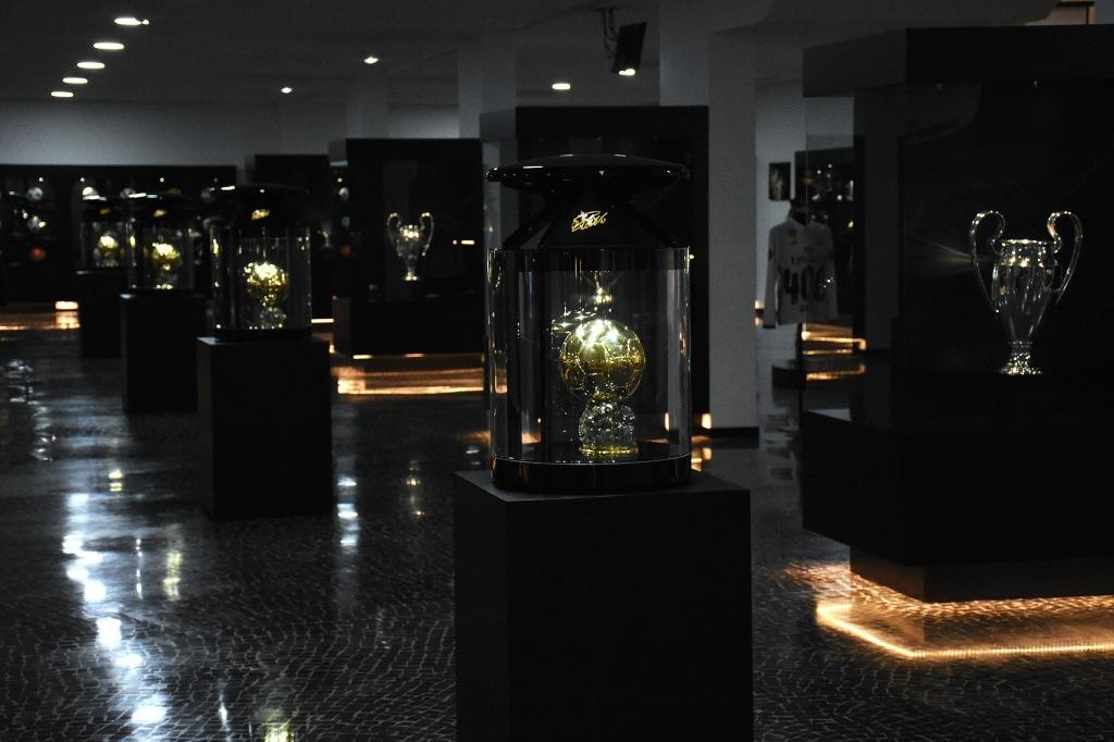 CR7 Museu Ronaldon pokaalit