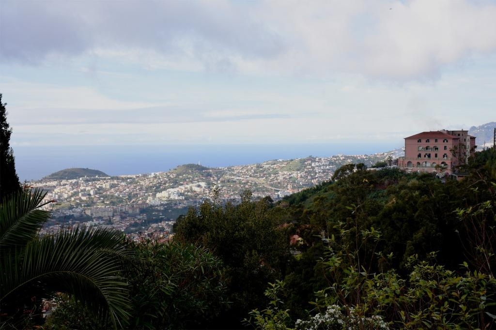 Funchal Monten huipulta