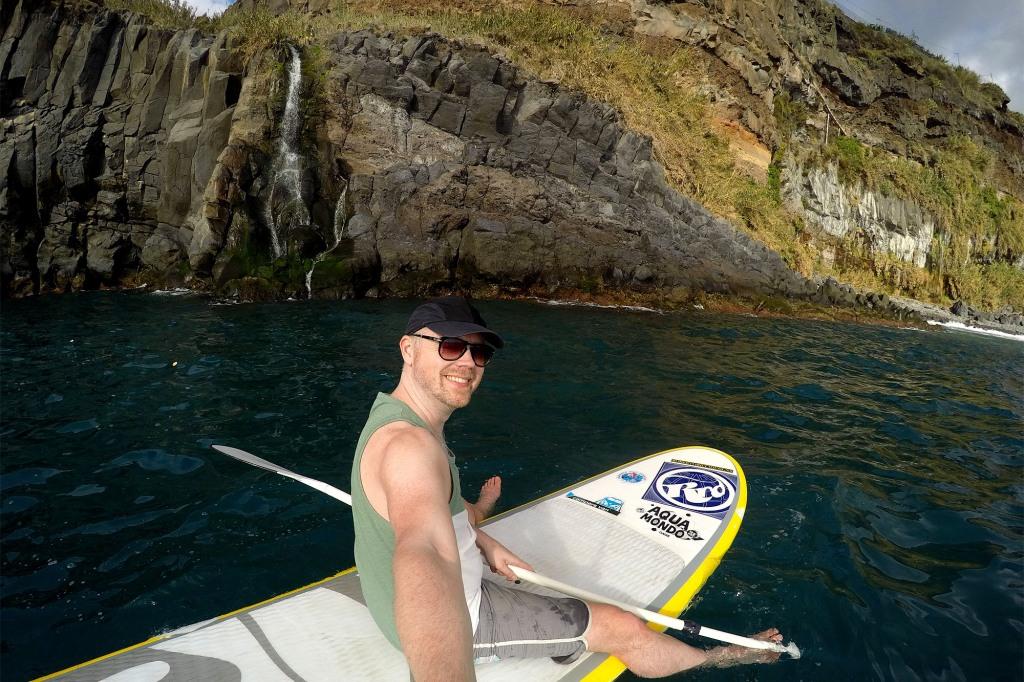 SUP-selfie Madeira