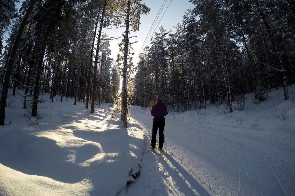 Lahti hiihtämässä