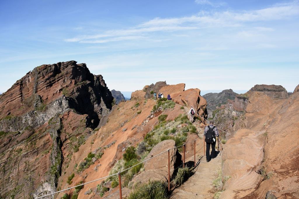 Madeira vuori patikointi