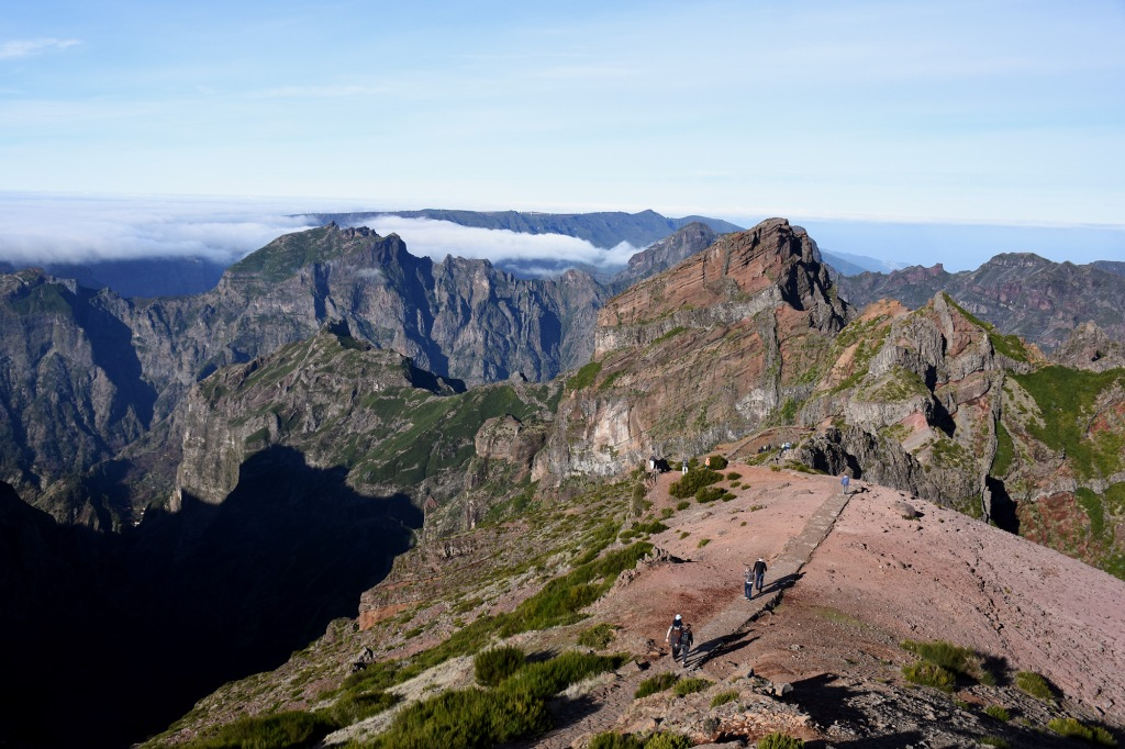 Pico do Arieiro huippu