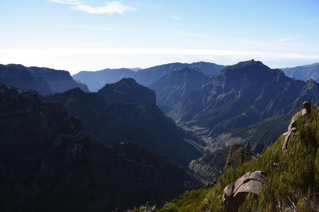 Pico Ruivon huipulla