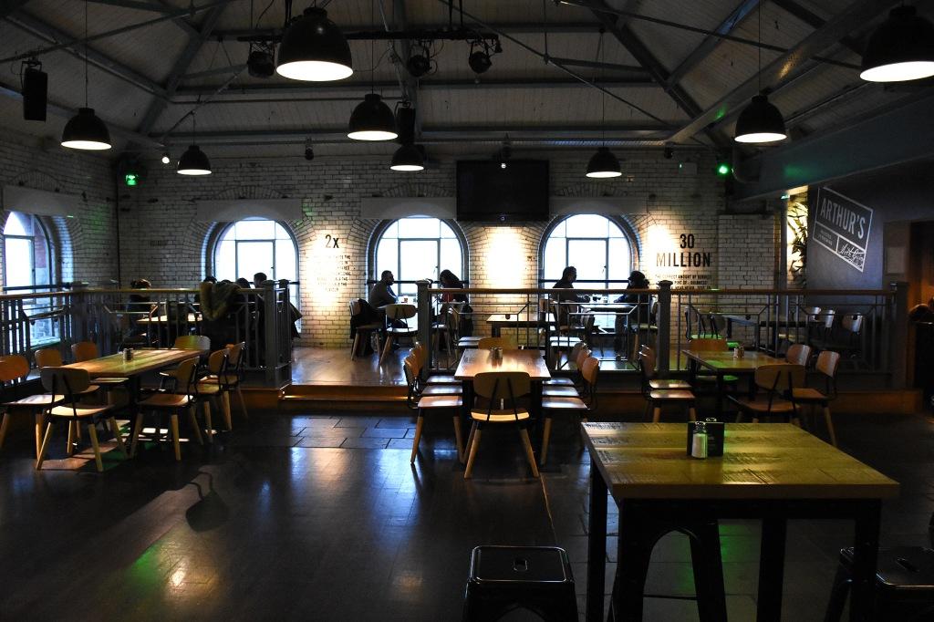 Guinness Storehouse Arthur's Bar