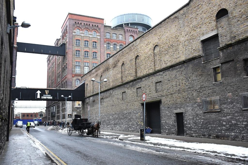 Guinness Storehouse rakennus
