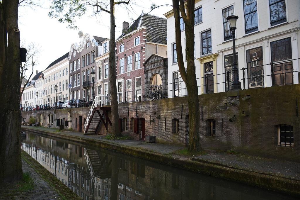 Kanaalin varrella Utrechtissa