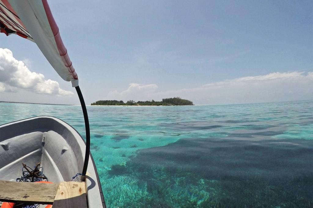 Venematka Mnemba-atollille ja -saarelle