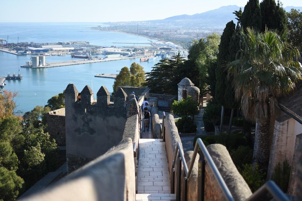 Castillo de Gibralfaro muurit