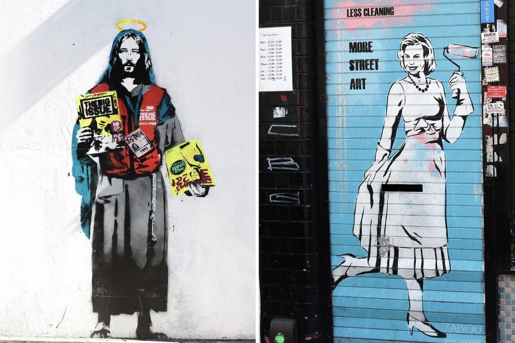Katutaidetta Lontoon kaduilla