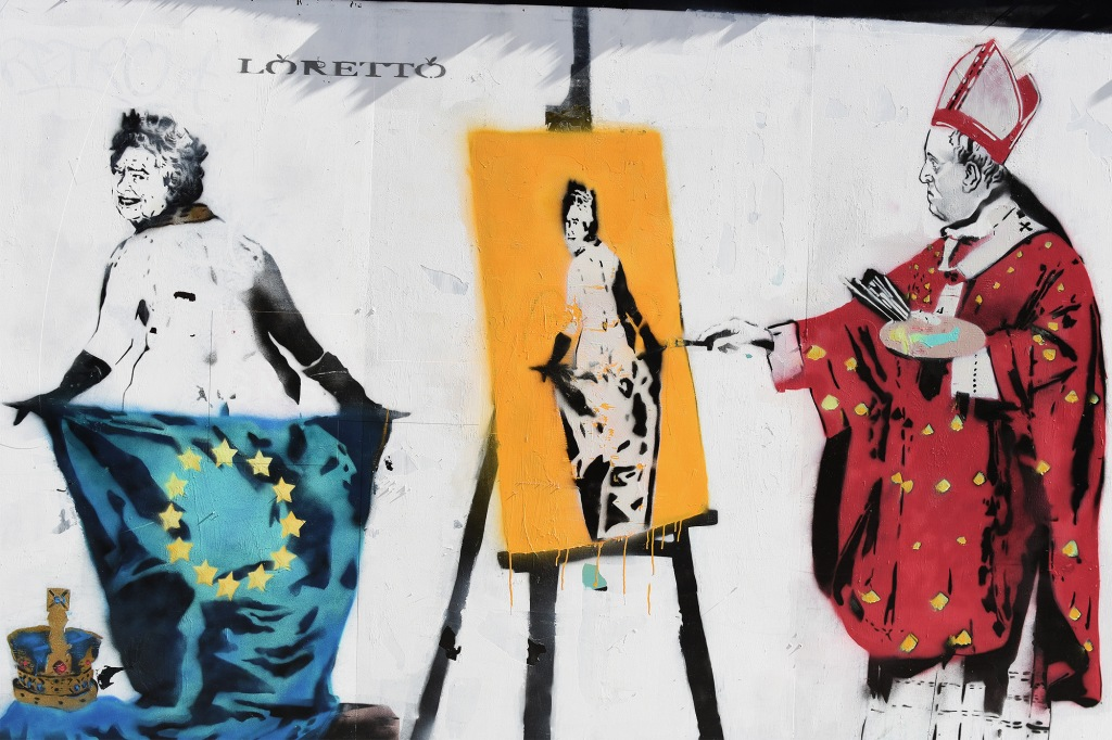 Loretto kuningatar-stencil