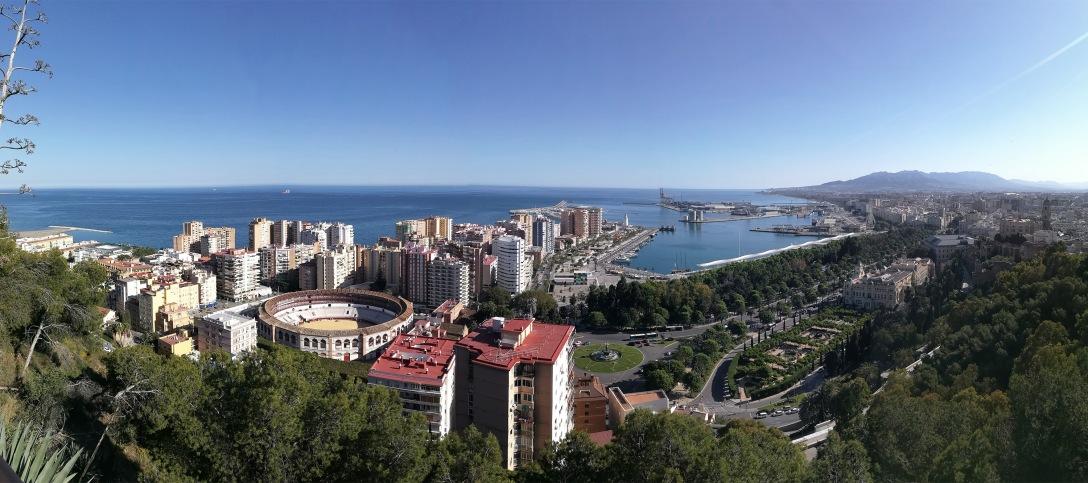 Malaga-panorama