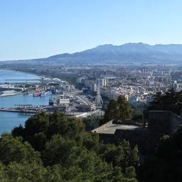 Työmatkalla aurinkoisessa Málagassa