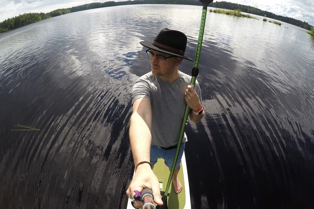 SUP-selfie Jobe-lauta