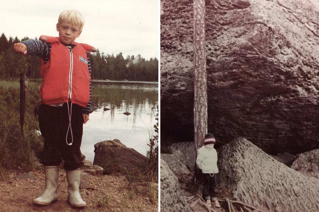Vanhoja kuvia Antti