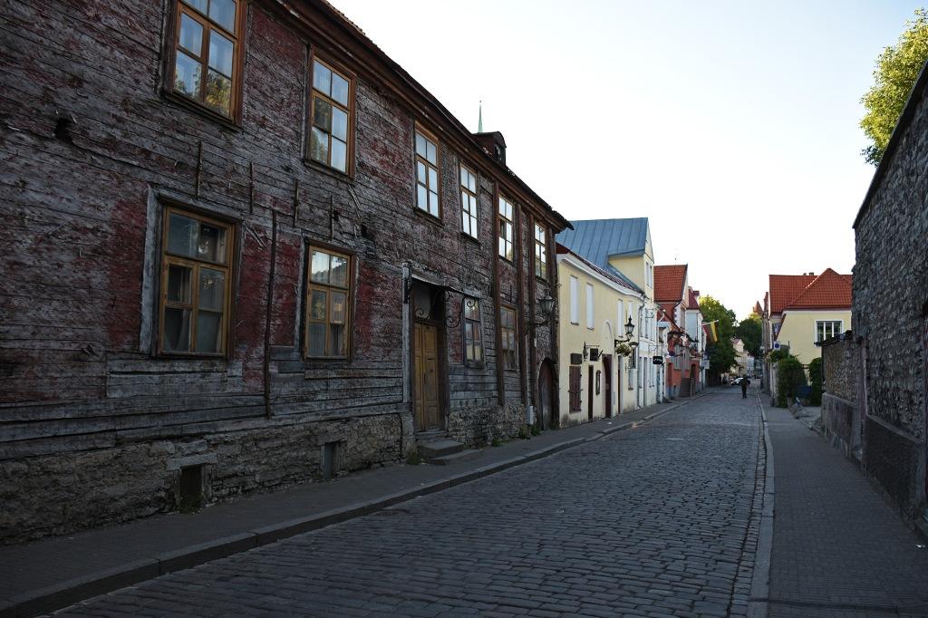 Uus-katu vanhassakaupungissa